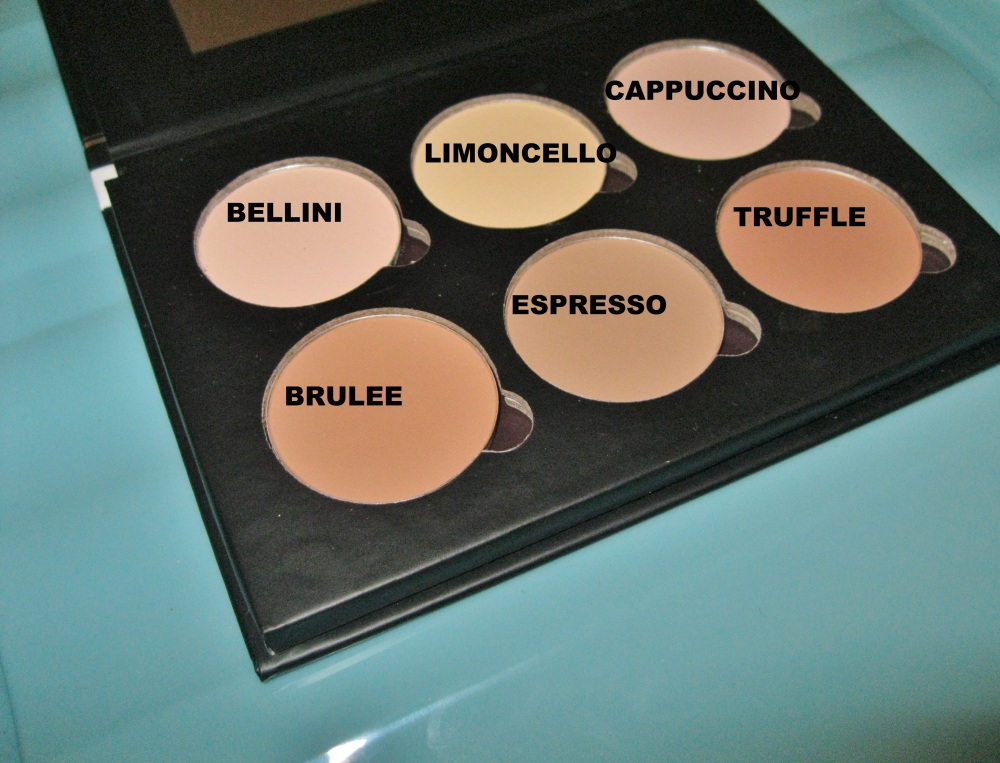 bellapierre contour and highlight close up..