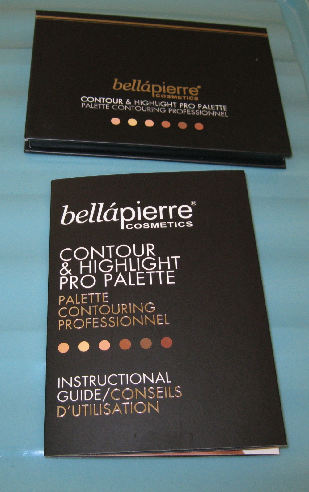 Bellapierre  Contour and highlight instructions