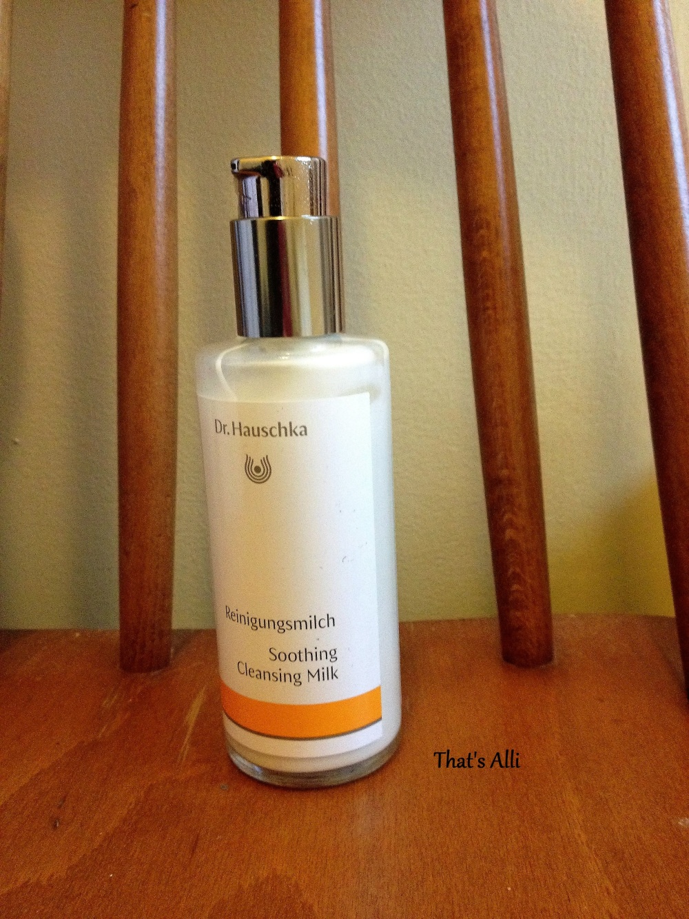 Facial In A Bottle||| Dr Hauschka Soothing Cleansing Milk Review