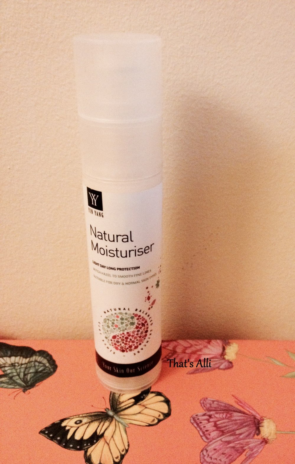Yin Yang Natural Moisturiser ||| Review